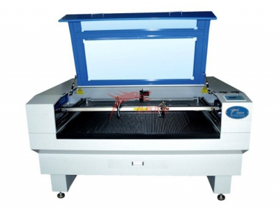 Double laser engraving and cutting machine