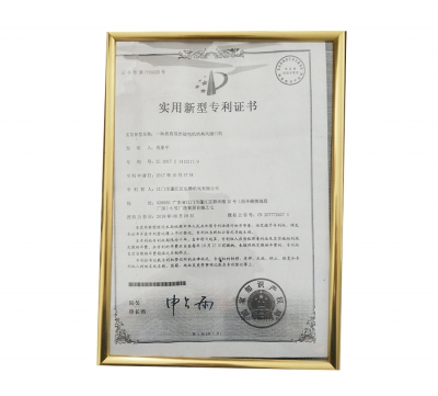 Utility Model Patent Certificate (12)